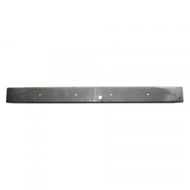 Front Bumper Bar (late style less gussets), 48-64 CJ-2A, 3A, 3B