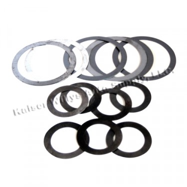 Pinion Bearing Shim Pack, 41-71 Jeep & Willys with Dana 23/25/27/41/44