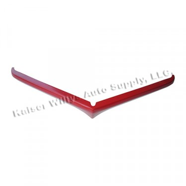 Paintable Upper Horizontal Grille Bar, Top, 50-64 Truck, Station Wagon, Jeepster