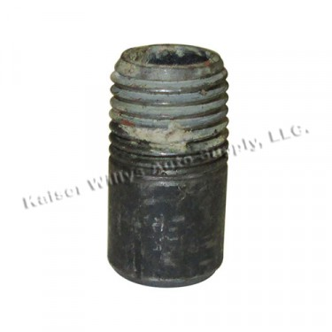 Bypass Hose Fitting (2 required), 41-71 Jeep & Willys with 4-134 engine