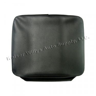 Seat Cover & Cushion for Front Bottom Seat Frame  Fits 50-71 M38, M38A1 (Less Plywood Pan)