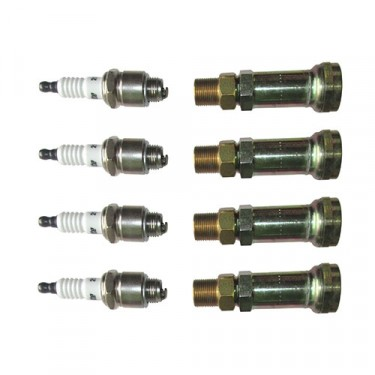 24 Volt Spark Plug Adapter Kit, 50-71 M38, M38A1