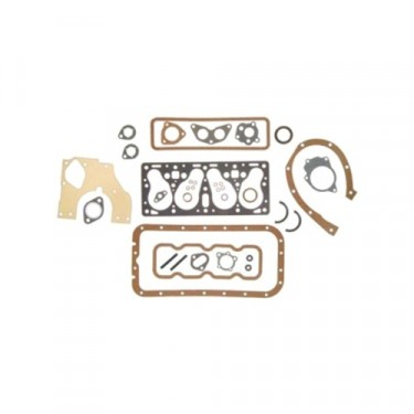 Engine Overhaul Gasket Set, 50-71 Jeep & Willys with 4-134 F engine