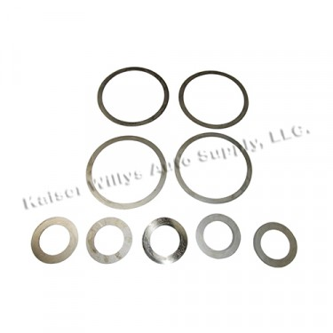 Differential Carrier Bearing Shim Pack, 46-64 Truck with Dana 53