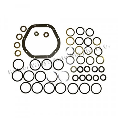 Differential Carrier Bearing Shim Pack, 46-71 Jeep & Willys with Dana 44