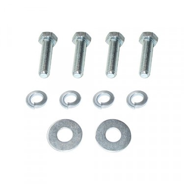 Regulator to Fender Hardware Kit, 4 bolt style, 41-66 Jeep & Willys