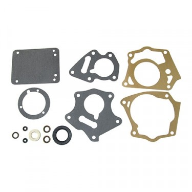 Deluxe Transmission Gasket Seal Set (with Overdrive), 46-55 Jeepster, Station Wagon with T-96 Transmission