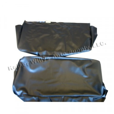 Quilted Vinyl Seat Cover Set for Bench Seat, 46-64 Truck