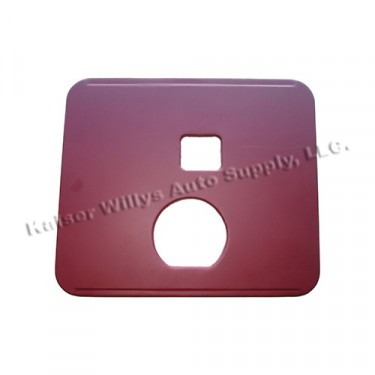 Drivers Side Seat Frame Bottom Pan Only (for Small Mouth) Fits 41-45 MB, GPW