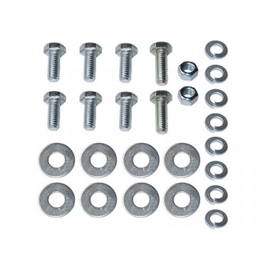 Front Fender to Cowl Hardware Kit, 46-53 CJ-2A, 3A