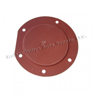 """Floor Pan Master Cylinder Access Cover in """"F"""" Script Fits 41-45 GPW"""
