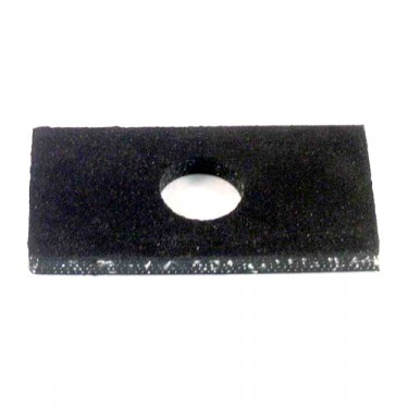 Rubber Body Mount Pad 1/4 Inch, 41-71 Jeep