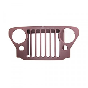 Steel Radiator Grille, 46-47 CJ-2A