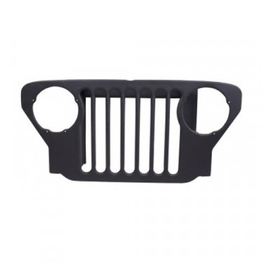 New Steel Radiator Grille - 49-53 CJ-3A