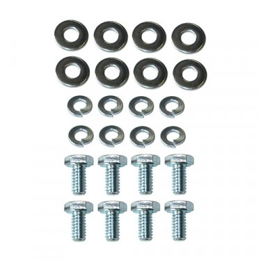 Wheel Cylinder to Backing Plate Hardware Kit, 41-71 MB, GPW, CJ-2A, 3A, 3B, 5, M38, M38A1