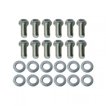 Backing Plate to Steering Knuckle Hardware Kit, 46-64 Truck, Station Wagon with 11 Inch brakes