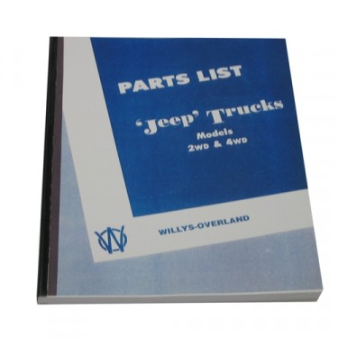 Master Parts List Manual Fits 46-49 Truck