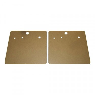 Early Style Interior Door Panel (Pair), 46-53 Truck, Station Wagon