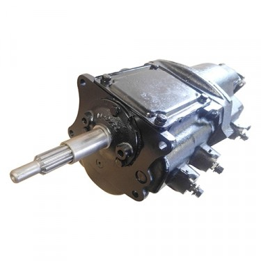 Complete Rebuilt Transmission Assembly (without Overdrive), 46-55 Station Wagon with T-96 Transmission