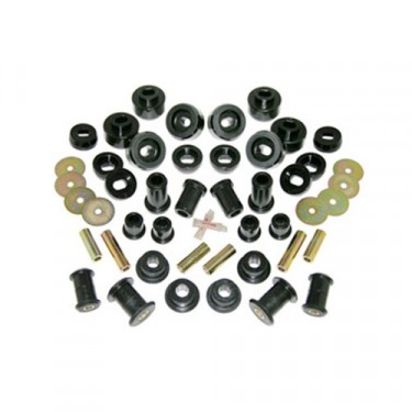 Prothane Complete Polyurethane Kit in Black, 76-79 CJ-5, CJ-7