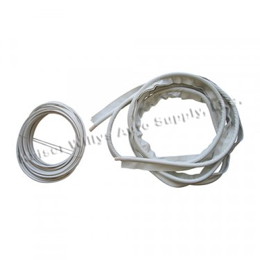 Door Surround Wire On & Wind Lace Kit (Off White), 46-64 Truck, Station Wagon