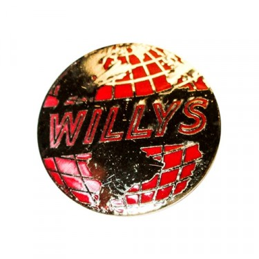 Willys Globe Pin, 41-71 Jeep & Willys