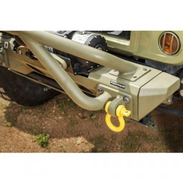 "Bumper D-Rings in Yellow 3/4"", All Willys & Jeep"