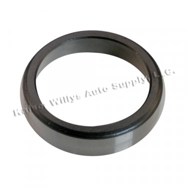 Differential Carrier Bearing Cup, 41-63 Jeep & Willys with Dana 25 front & 27 rear