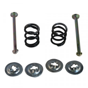 Brake Shoe Hold Down Spring Kit, 53-66 CJ-3B, 5, M38A1