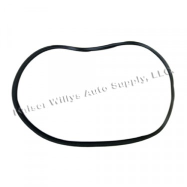 Side Panel Glass Weatherseal for Passenger Side, 67-72 Jeepster