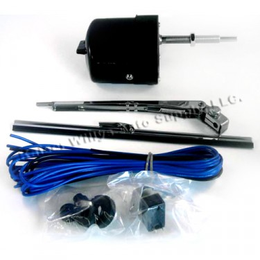 Windshield Wiper Motor Conversion Kit in 12 volt, 41-68 MB, GPW, CJ-2A, 3A, 3B, 5, M38, M38A1