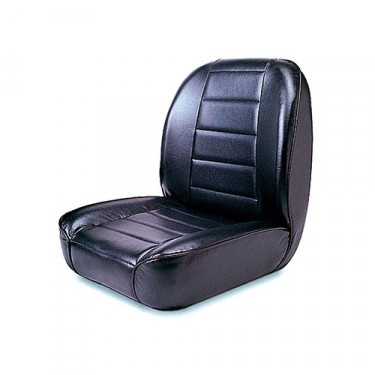 Standard Low Back Seat in Black, 76-86 CJ