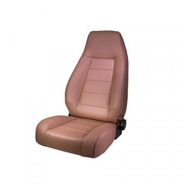 High-Back Front Seat, Reclinable in Tan, 76-86 CJ
