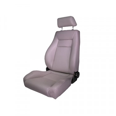 Ultra Front Reclinable Seat in Gray, 76-86 CJ