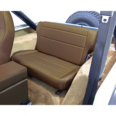 Fold and Tumble Rear Seat in Nutmeg, 76-86 CJ