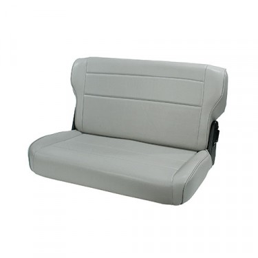 Fold and Tumble Rear Seat in Gray, 76-86 CJ