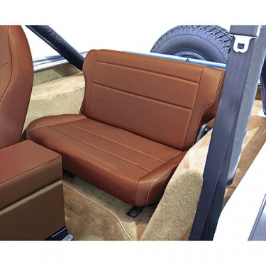 Fold and Tumble Rear Seat in Spice, 76-86 CJ