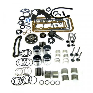 Complete Engine Overhaul Kit, 41-46 Willys & Jeep MB, GPW, CJ-2A