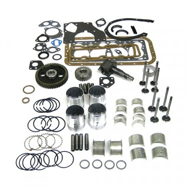 Complete Engine Overhaul Kit, 46-53 Jeep & Willys with 4-134 L engine