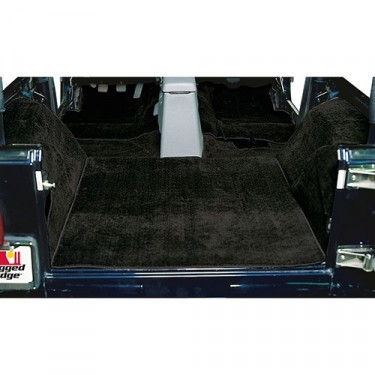 Replacement Carpet in Black, 76-86 CJ