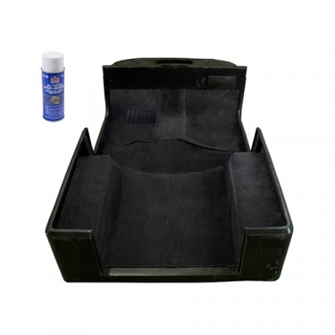 Deluxe Carpet Kit in Black, 76-86 CJ-7