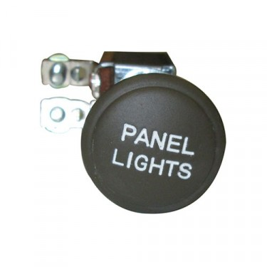 Blackout Drive Panel Light Switch, 41-45 MB, GPW