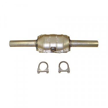 Catalytic Converter Kit with Hardware, 84-86 CJ with 2.5L 4 Cylinder