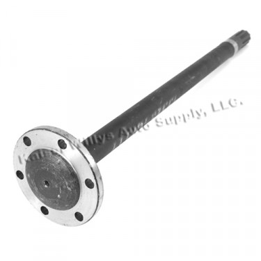 Rear Axle Shaft for Drivers Side (LH)  Fits  41-46 Jeep with Dana 27 Full Floating with Flange