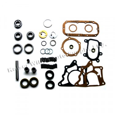 """Minor Transfer Case Overhaul Repair Kit (for 1-1/4"""" shaft), 53-66 Jeep & Willys with Dana 18 transfer case"""