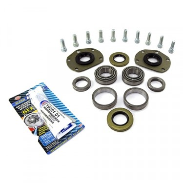 1 Piece Bearing Kit, 76-86 CJ with Rear AMC20