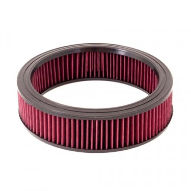 Synthetic Round Air Filter, 72-86 CJ