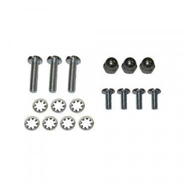 Inner Windshield Frame Repair Hardware Kit, 41-45 MB, GPW