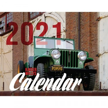 2021 Kaiser Willys Calendar All Willys & Jeep Vehicles