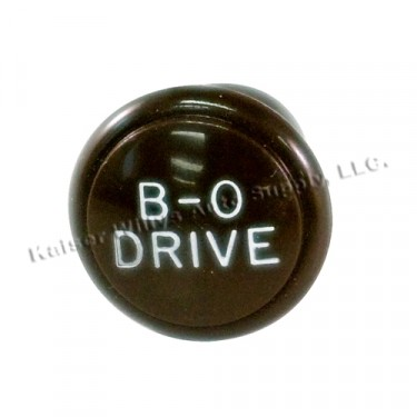 Blackout Light Switch Knob, 41-45 MB, GPW
